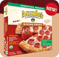 image about Whole Foods Printable Coupon identified as $2/1 Annies Homegrown Contemporary Frozen Pizza Printable Coupon